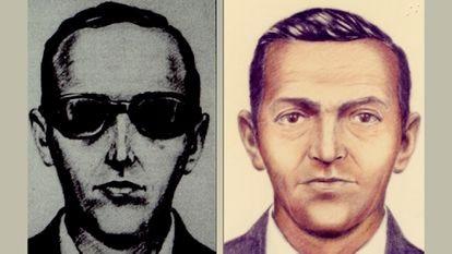 Foto de D.B. Cooper no arquivo do FBI. / Reprodução