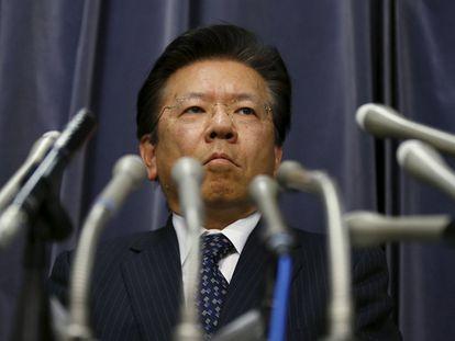 O presidente da Mitsubishi Motors, Tetsuro Aikawa.