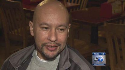 Angel González, o mexicano inocentado nos EUA depois de 20 anos de prisão.