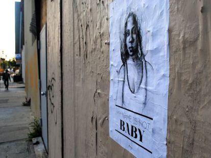 Campanha contra o assédio verbal da artista Tatyana Fazlalizade.