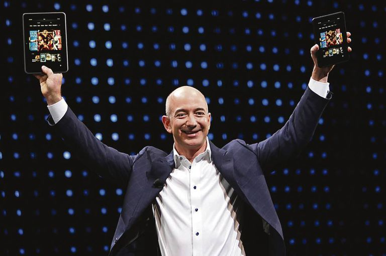 Jeff Bezos, fundador da Amazon.