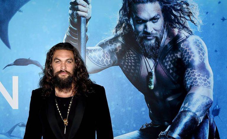 Jason Momoa na premiere da Warner Bros. Pictures' de 'Aquaman', em 21 de dezembro.