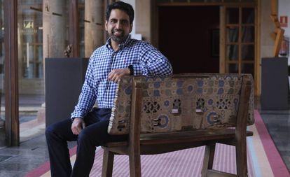 Salman Khan, na terça-feira, em Oviedo (Espanha).