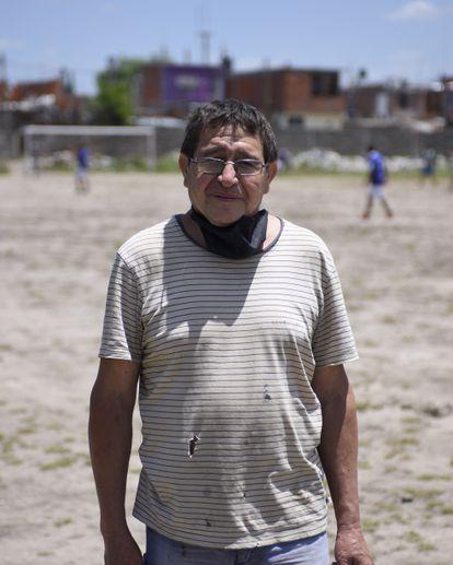 Serrucho, amigo de infância de Maradona.