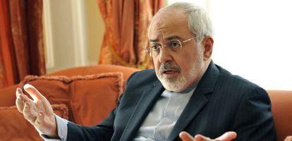 O ministro iraniano de Exteriores, Mohamed Javad Zariif, em Viena.
