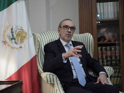 Carlos Sada, embaixador de México nos Estados Unidos.