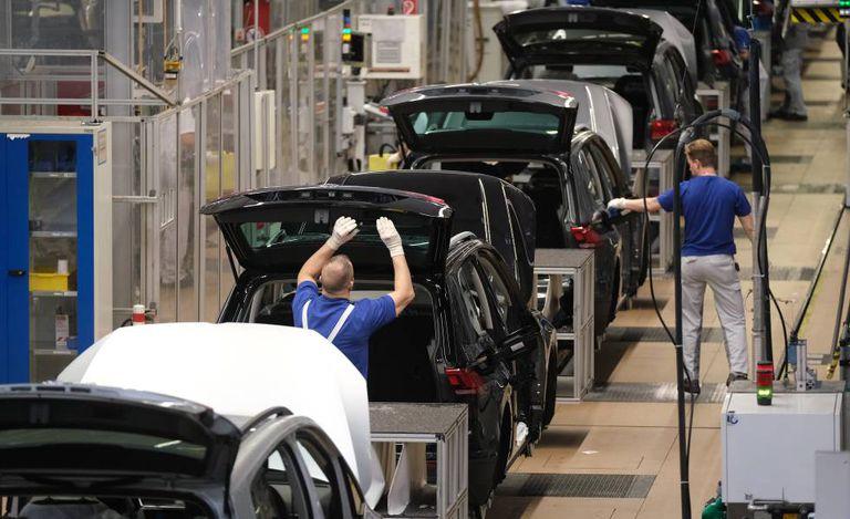 Fábrica de carros em Wolfsburg (Alemanha), em março de 2019.
