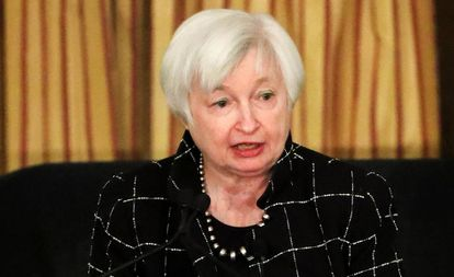 A presidenta do Federal Reserve (Fed), Janet Yellen. EFE/Arquivo
