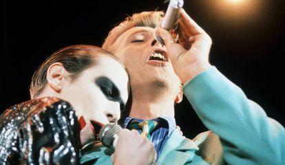 Annie Lennox e David Bowie