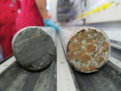 Um estudo reconstitui minuto a minuto o que se passou há 66 milhões de anos, graças a um cilindro de rocha extraído da zona do impacto