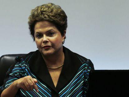 Rousseff, em reunião com o Comitê Olímpico nesta sexta.