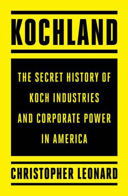 Capa do novo livro sobre os irmãos Kochland