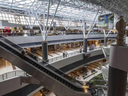 O aeroporto internacional de Recife, arrematado pela espanhola Aena.