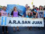 Los familiares del ARA San Juan continúan con la esperanza de reencontrarse con los 44 tripulantes.