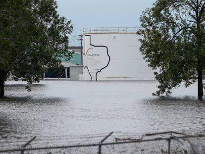 Estado do complexo químico de Arkema em Crosby