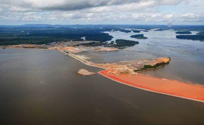 A Usina Hidrelétrica de Belo Monte em abril de 2017.