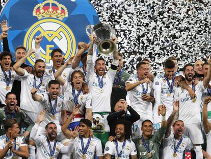 Real Madrid faturou o 13º título da Champions League.
