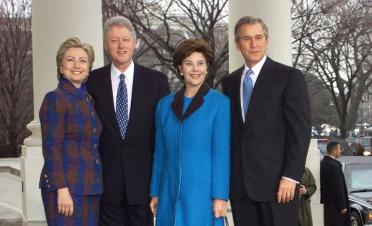 Eua Clinton E Bush A Volta Das Dinastias Internacional El Pais Brasil