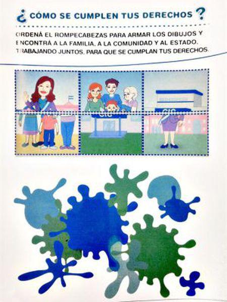 Imagem distribuída pelo Ministério de Desenvolvimento Social sobre Cristina Kirchner.