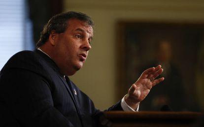 O governador republicano de Nova Jersey, Chris Christie.