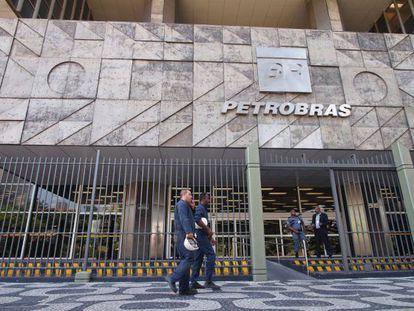 Fachada da sede da Petrobras no Rio de Janeiro.