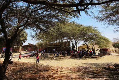 Escola Santa Elena, no Peru.