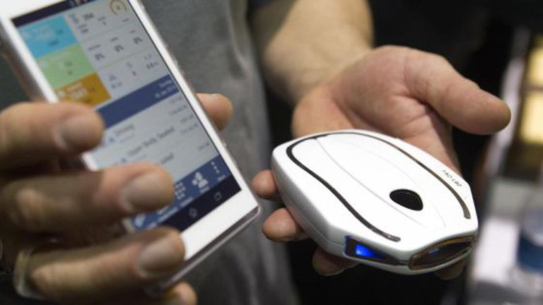 WellShell monitora dados do corpo e envia ao celular.