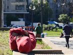 Em SP, moradores de rua enfrentam madrugada mais fria em 20 anos