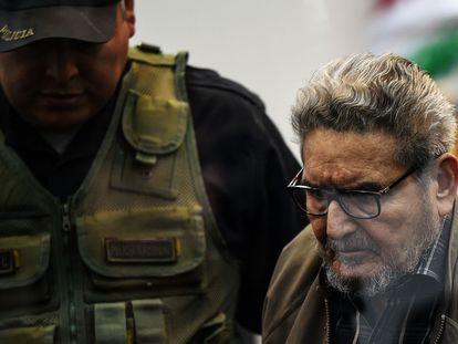 Abimael Guzmán, fundador do grupo terrorista Sendero Luminoso, em novembro de 2019.