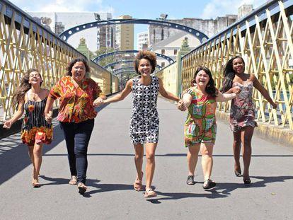 Jô Cavalcanti, Kátia Cunha, Carolina Vergolino, Joelma Carla e Robeyoncé Lima compõem a chapa 'Juntas' (PSOL) eleita em Pernambuco.
