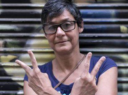 A jornalista venezuelana Mariveni Rodríguez.