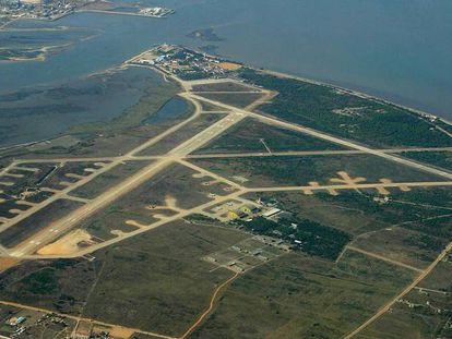 Base aérea de Montijo, onde se projeta o novo aeroporto.