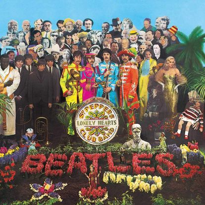 Capa de 'Sgt. Peppers Lonely Hearts Club Band'.