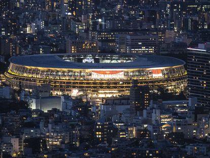 Estádio Olímpico de Tóquio.