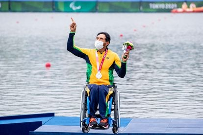 O piauiense Luis Carlos Cardoso conquistou o melhor resultado da canoagem paralímpica brasileira.