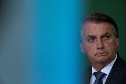 Jair Bolsonaro, no final do mês de outubro em evento em Brasília.