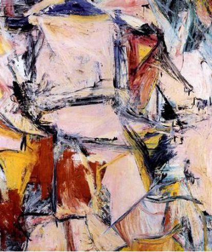 'Interchange' (1955), uma tela de Willem de Kooning, adquirida por 1,21 bilhão de reais.