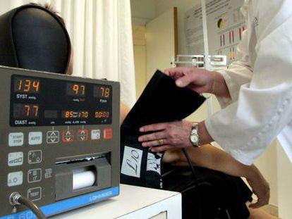Uma unidade de tratamento de hipertensão em Barcelona.
