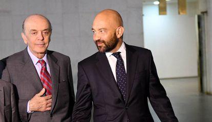 José Serra e o secretário de Comércio espanhol, Jaime García-Legaz.