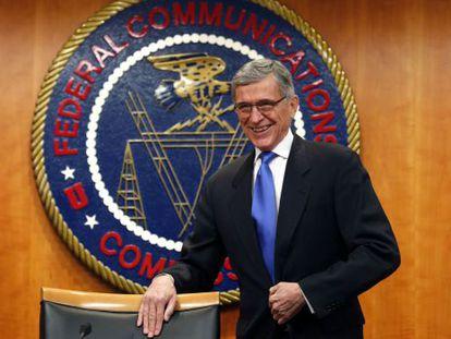 O presidente da FCC, Tom Wheeler, nesta quinta-feira.