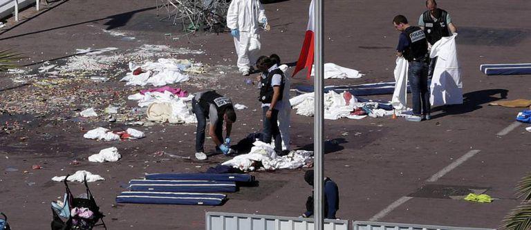 Vítimas do atentado da quinta-feira em Nice.