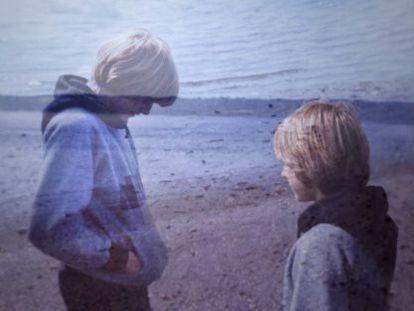 Kurt Cobain na adolescência, em cena do documentário 'Cobain: Montage of heck'.
