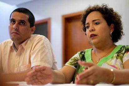 Os empresários Ana Cláudia Chaves e Allan Kardec Filho, em Manaus.