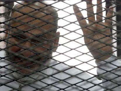 Safwat Hegazy, um dos membros da irmandade Muçulmana preso.