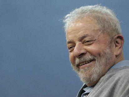 O ex-presidente do Brasil Luiz Inácio Lula da Silva.
