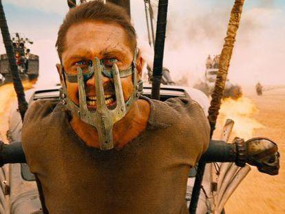 Tom Hardy, o novo Max de 'Mad Max'.