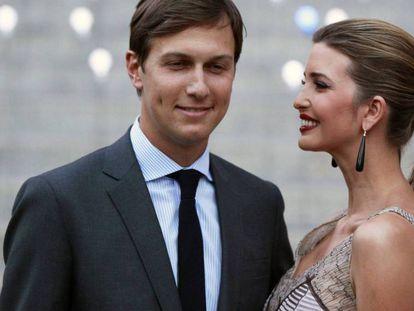 Ivanka Trump e Jared Kushner, seu marido.