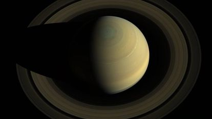 Saturno vista pela 'Cassini' em 2013.