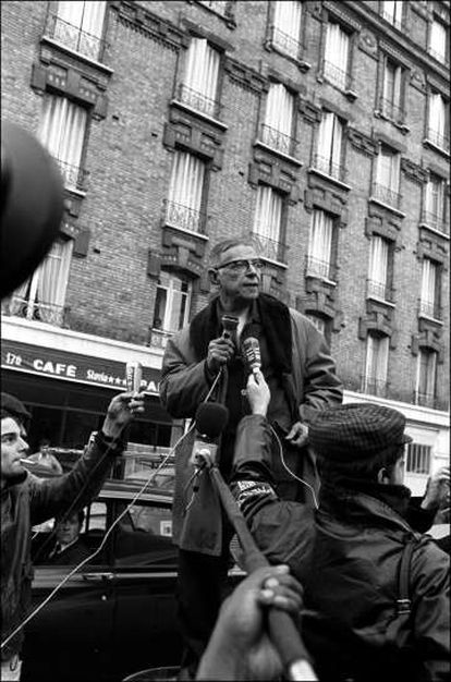 Jean-Paul Sartre, em 1970