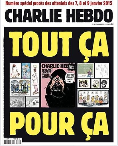 Capa da última edição do 'Charlie Hebdo'.
